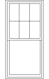 Colonial - Top Sash Only